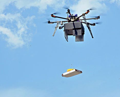 Flying drones get entangled in Russian red tape