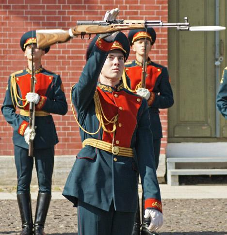 Até o início do século 20, as habilidades de combate com baioneta da Rússia eram consideradas as melhores da Europa Foto: ITAR-TASS