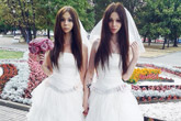 Moscow officially registers marriage between two brides