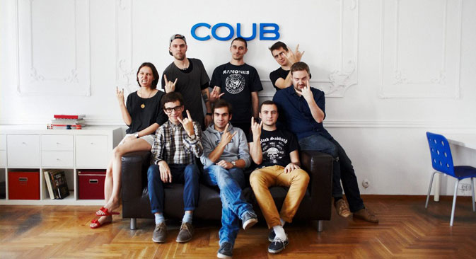 The Coub team. Source: Coub