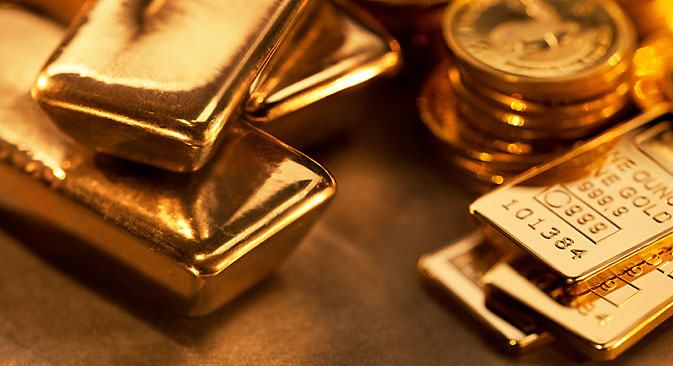 According to the World Gold Council, over a period of six months, Russia increased its gold reserves by 54 tons, a higher increase than any other country. Source: Getty Images / Fotobank