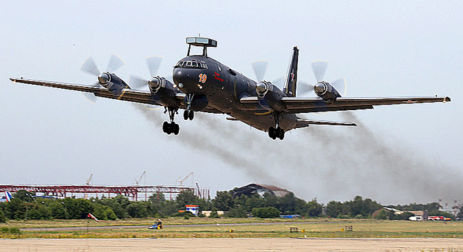 The Ilyushin Il-38 is the military version of the famous Il-1 airliner. Source: Press Photo