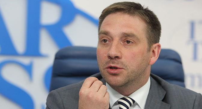 Sergei Belyakov fired for breaking law on public comments about state work. Source: Victor Vasenin / RG
