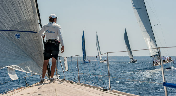 The Swan 60 Class World Cup is a part of the famous Copa del Rey Regatta in Mallorca. Source: Andrey Sheremetev