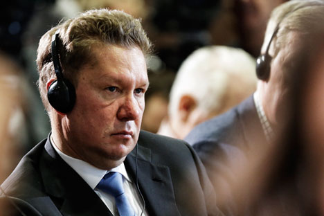 Gazprom-Chef Alexej Miller. Foto: AP