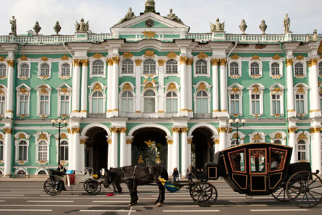 The State Hermitage Museum in St. Petersburg. Source: Alamy / Legion media