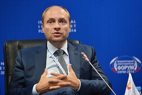 Alexandre Galouchka, le ministre du Développement de l'Extrême-Orient. Crédit photo :  Alexeï Koudenko / RIA Novosti