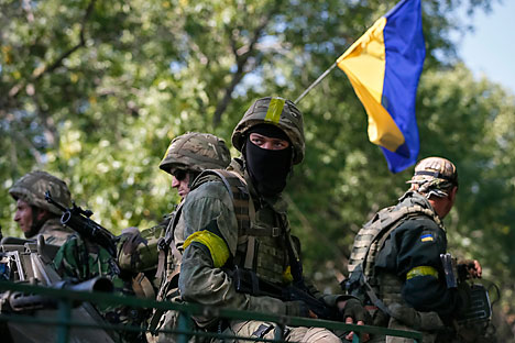 """Autoridades em Kiev encaram Rússia como """"agressor que ameaça a integridade territorial da Ucrânia"""" Foto: Reuters"""