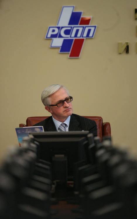 """""""A situação atual é relacionada com problemas estruturais da economia russa e com a falta de um clima de investimento favorável"""", diz Chôkhin  Foto: RG"""