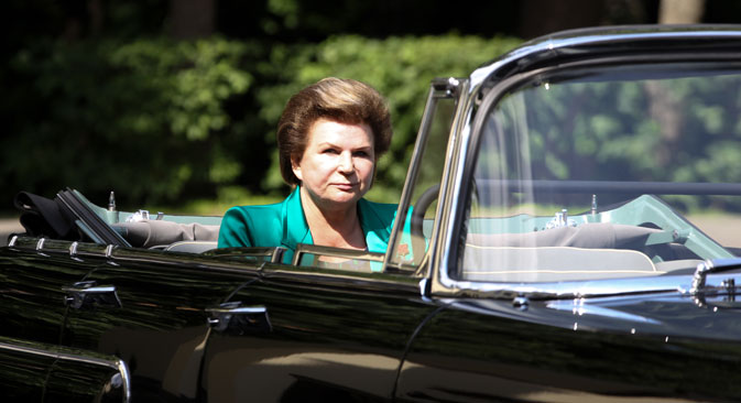 Valentina Tereshkova. Source: PhotoXPress