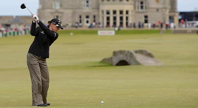 The Royal and Ancient Golf Club has voted in favour of allowing women members for the first time in its 260-year history. Source: AP