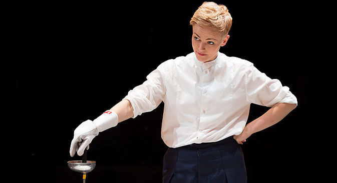 Maxine Peake as Hamlet. Source: Jonathan Keenan