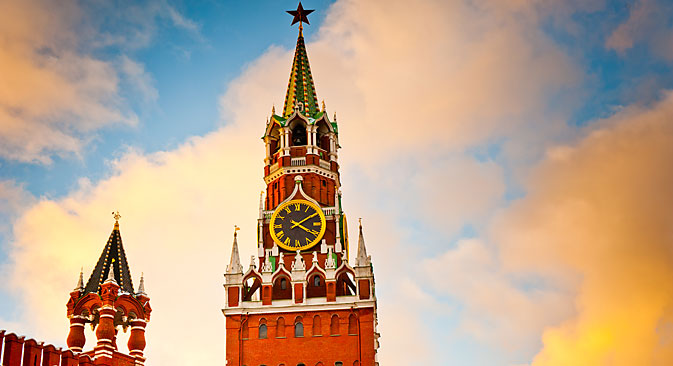 'Russians are unlike other nations, so their clock should be different from the others,' clockmaster Galloway said. Source: Shutterstock