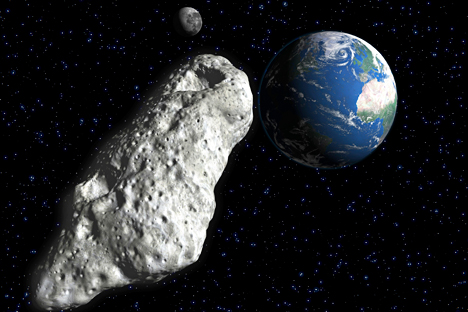 Astronomers from NASA warn that Earth is threatened by Asteroid 2004 VD17. Source: AFP / East News