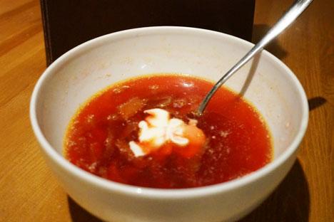 Borscht – A Ukrainian dish no Russian will turn down