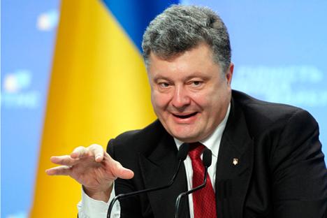 Putin und Poroschenko treffen sich diese Woche in Mailand beim ASEM-Forum. Foto: Reuters