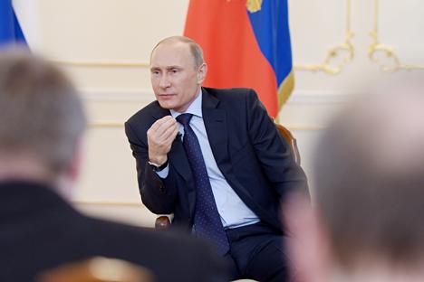 """Putin: U.S. attitude to Russia """"antagonistic"""""""