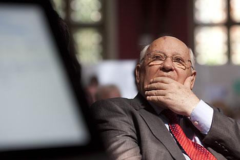 """Gorbatchov lançou seu novo livro, """"Depois do Kremlin"""", nesta semana Foto: Features/Fotodom"""