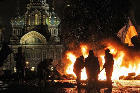 Pavlensky's scandalous art