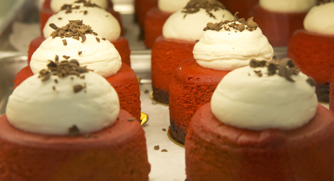 Magnolia Bakery gained fame for its cupcakes - and also by its appearances in Sex and the City and The Devil Wears Prada, both beloved by Russian audiences.Source: Press photo