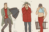 Come rain or shine: How Russians deal with the weather