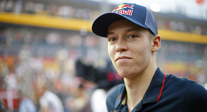 At 20 years of age, Kvyat's boyish features and shy smile could easily allow him to pass for three or four years younger. Source: AFP / East News