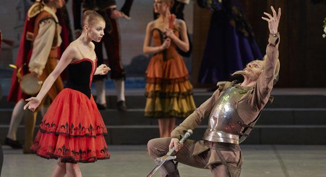 "Angelina Vorontsova in the ballet ""Don Quixote"". Source: Mikhailovsky Theater"
