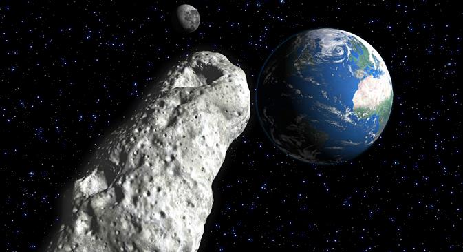 Astronomi iz NASA-e upozoravaju da Zemlji prijeti Asteroid 2004 VD17. Izvor: AFP / East News