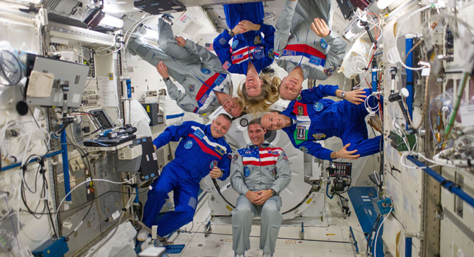 The International Space Station remains one place where Americans and Russians can find common ground.