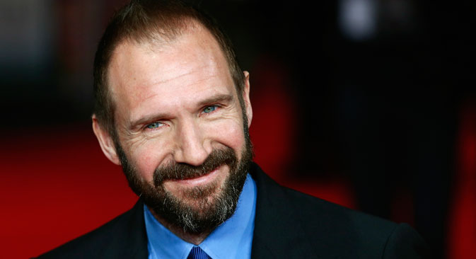 Fiennes came to Moscow to open The New British Film Festival. Source: Reuters