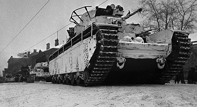 Soviet heavy tank T 35, 1941. Source: TASS