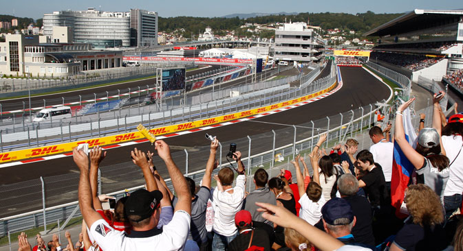Formula 1 in Sochi. Source: Vladimir Anosov / RG