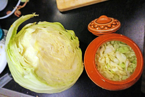 Granny's recipe of sour cabbage. Source: Anna Kharzeeva