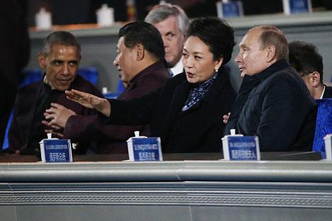 Russian media discuss the results of Vladimir Putin's visit to China. Source: Konstantin Zavrazhin/RG