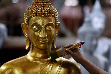 Buddhism is considered as one of Russia's traditional religions.