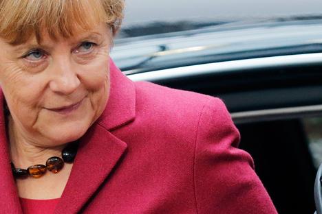 Merkel admitiu, porém, que sanções afetam negativamente a economia alemã Foto: Reuters