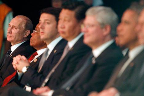 """Pútin: """"Mundo de hoje vive em condições de planejamento com horizonte muito limitado"""" Foto:Reuters"""