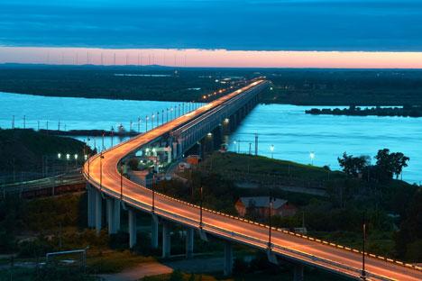 10 miles from China, the city of Khabarovsk. Source: Lori / Legion Media