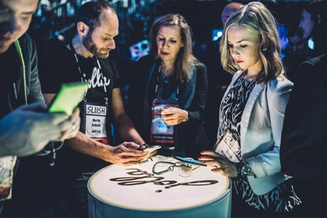 During Slush, more than 10 European startups expressed the desire to move to Russia. Source: Press photo