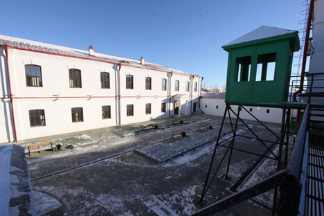 Travelers can experience life of a prisoner at new Siberian guesthouse. Source: Press photo