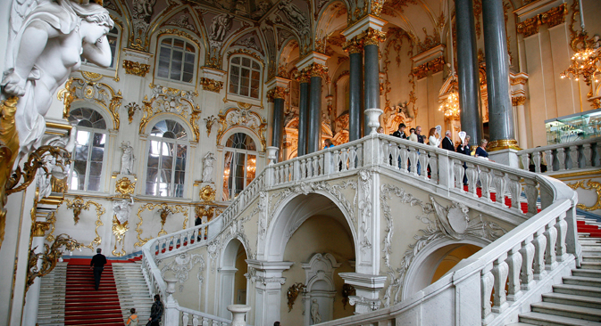 Today, The State Hermitage Museum has a collection numbering about three million works - more than any viewer could see over an entire lifetime. Source: Alamy /  Legion Media
