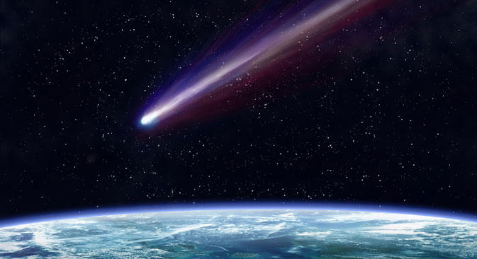 Russian astronomer has discovered a new dangerous asteroid. Source: Alamy / Legion Media