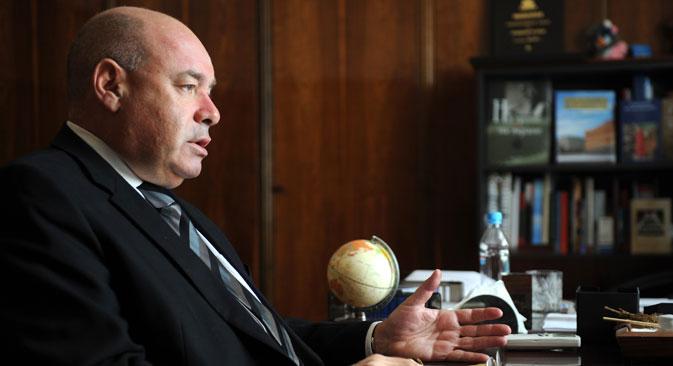 The Russian president's special envoy for international cultural cooperation, Mikhail Shvydkoi. Source: RIA Novosti / Grogoriy Sisoev
