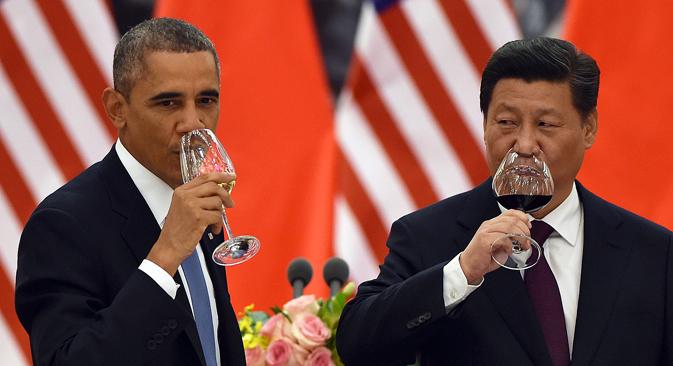 New model for relations between Beijing and Washington suits Kremlin. Source: Reuters