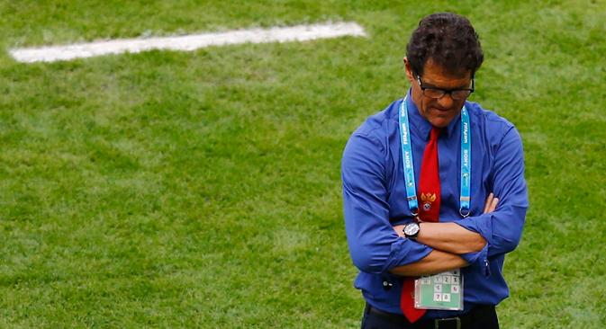 Fabio Capello. Source: Reuters