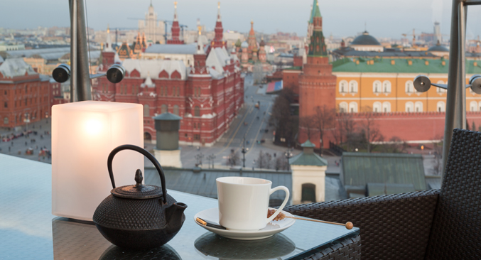 In Russia's capital, eating out is the new staying in. Source:  Shutterstock