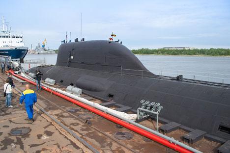 Kapal selam pertama kelas Severodvinsk telah dikirim Angkatan Laut Rusia pada 17 Juni 2014.