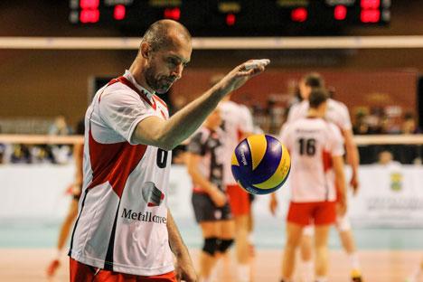 39-year-old Olympic champion Sergei Tetyukhin. Source: Imago Sport / Legion Media