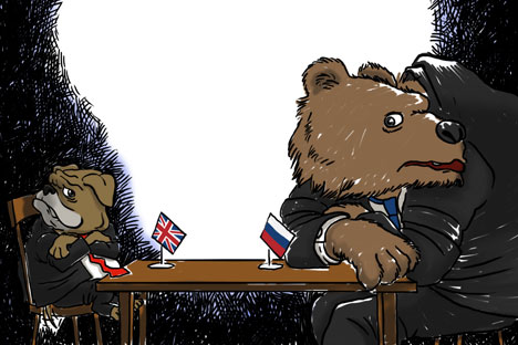 Mutual distrust offers poor prospects for UK-Russian relations