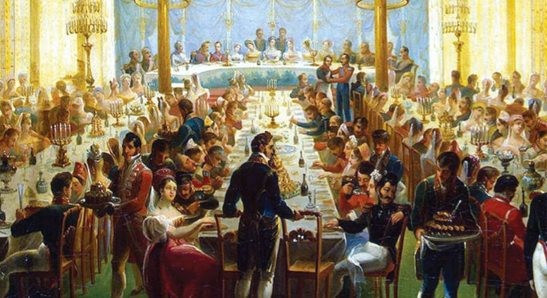 Dining With Nobility In The Heyday Of The Russian Empire